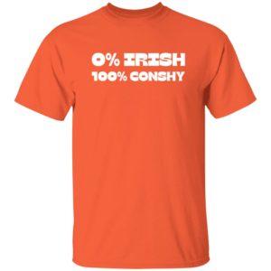 0% Irish 100% Conshy T Shirt