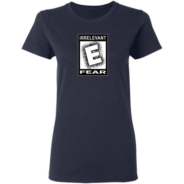 Scott The Woz Merch Rated E For Irrelevant Shirt