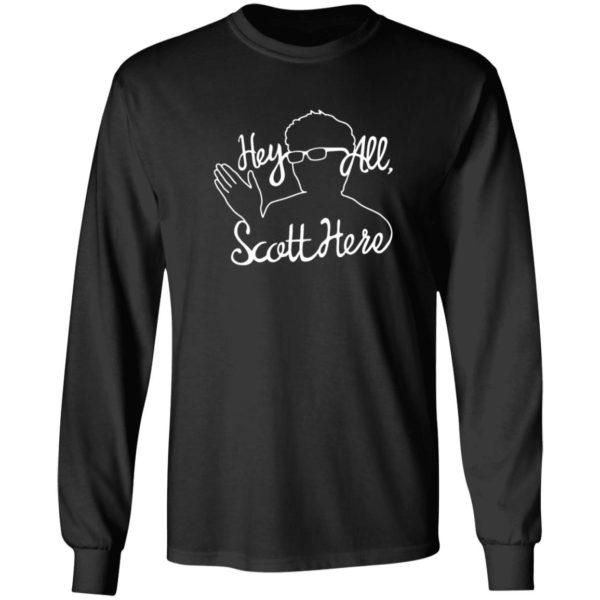 Scott The Woz Merch Hey All Scott Here Shirt