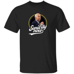 Stu Does Merch Senility Now T Shirt