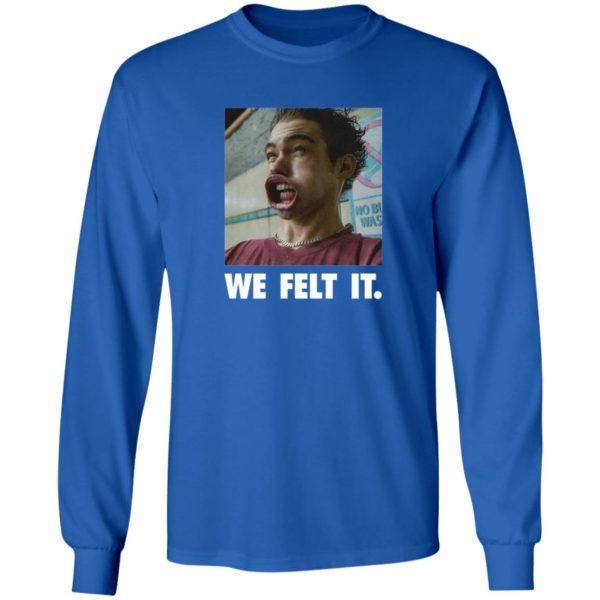 Joshua Bassett Merch We Feel It T Shirt
